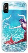 Mermaid Red IPhone Case