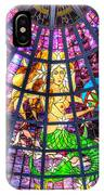 Mermaid Stained Glass Art  IPhone Case