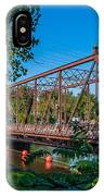 Merriam Street Bridge IPhone Case