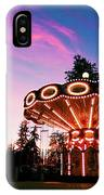 Merry - Go - Round At Sunset IPhone Case