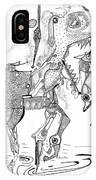 Merry-go-round Horse IPhone Case