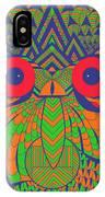 Mesmerizing Owl IPhone Case