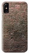 Mesopotamian Cuneiform IPhone Case
