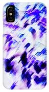 Mess In Blue Tones IPhone Case