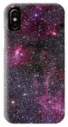 Messier 52 And The Bubble Nebula IPhone Case