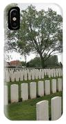 Messines Ridge British Cemetery IPhone Case