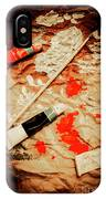 Messy Painters Palette IPhone Case