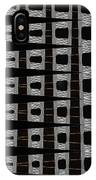 Metal Panel With Holes Abstract IPhone Case