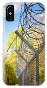 Metal Sharp Barbed Wire IPhone Case