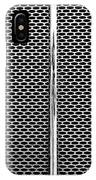 Metal Texture No.18 Bw IPhone Case