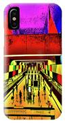 Metro 4, Budapest, Hungary, Poster Effect 1a IPhone Case