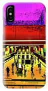 Metro 4, Budapest, Hungary, Poster Effect 1b IPhone Case