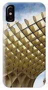 Metropol Parasol At The Plaza Of The Incarnation In Seville Spai IPhone Case