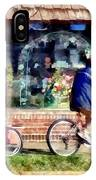 Metuchen Nj - Bicyclists On Main Street IPhone Case