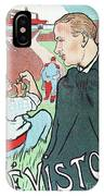 Mevisto In The Country French Theatre Ad IPhone Case