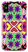 Mex Mod - Huichol 116 IPhone Case