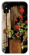 Mexican Geraniums IPhone Case