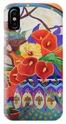Mexican Lilies IPhone Case