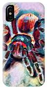 Mexican Red Knee Tarantula IPhone Case