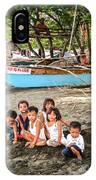 Mia-gao Fishing Children 1 IPhone Case