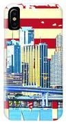 Miami Florida City Skyline IPhone Case