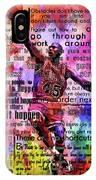 Michael Air Jordan Motivational Inspirational Independent Quotes 3 IPhone Case
