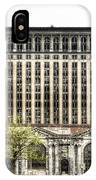 Michigan Central Station Detroit IPhone Case