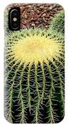 Mickey Mouse Barrel Cactus IPhone Case