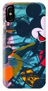 Mickey Mouse Vs. Minnie Mouse Stage On IPhone Case
