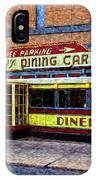 Mickey's Dining Car IPhone Case