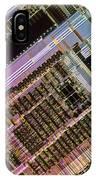 Microprocessors IPhone Case