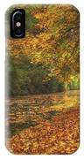 Mid Autumn On The Grand Union No 4 IPhone Case
