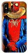Middle Ages Spider Man IPhone Case