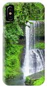 Middle North Falls 2 IPhone Case