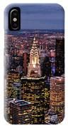 Midtown Skyline At Dusk IPhone Case