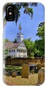 Midway Congregational Church IPhone Case