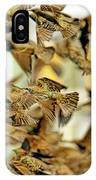 Migration Of The Starlings IPhone Case