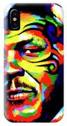 Mike Tyson Abstract IPhone Case