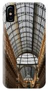 Milan Galleria 5 IPhone Case