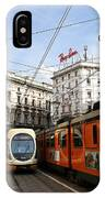 Milan Trolley 4 IPhone Case