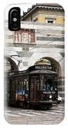 Milan Trolley 5 IPhone Case