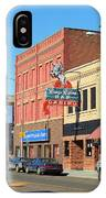 Miles City, Montana - Downtown Casino 2 IPhone Case