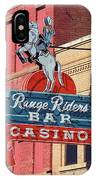 Miles City, Montana - Downtown Casino IPhone Case