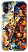 Miles Davis - Gold Trumpet IPhone Case