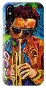 Miles Davis Hot Jazz Portraits By Carole Spandau IPhone Case