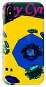 Miley Cyrus At Five With An Attitude Print IPhone Case