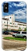 Milford Hospital IPhone Case