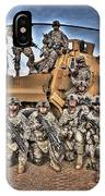 Military Police Pose For This Hdr Image IPhone Case