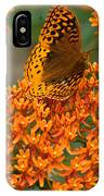 Milkweed And A Frittalary IPhone Case