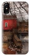 Mill - Clinton Nj - The Mill And Wheel IPhone Case